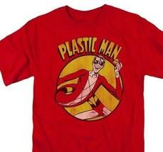 Plastic Man T-shirt retro DC Saturday morning cartoon superfriends cotton DCO276 image 1