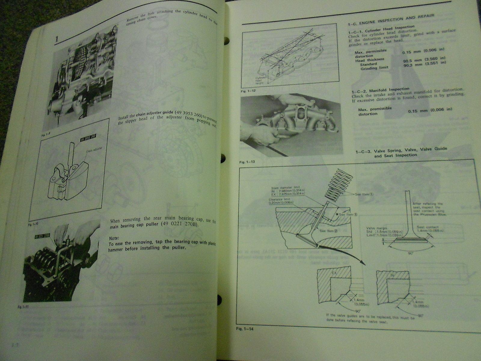 Other Car Manuals 1980 Mazda B2000 Truck Service Repair Shop Manual Set Factory Oem Books 80