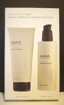 AHAVA Duo Dead Sea Water Shower Gel+ Body Lotion Full Size  NIB!!! - $48.37