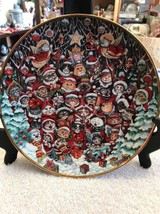 Santa Claws by Bill Bell Limited Edition Christmas Plate - Excellent Con... - $18.75