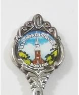 Collector Souvenir Spoon USA Massachusetts Boston Old North Church - $6.99