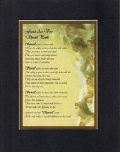 Touching and Heartfelt Poem for Special Friends - Friends Are Very Special Peopl - $15.79