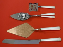 Modern Classic by Lunt Sterling Silver Dessert Serving Set 4pc Custom Made - $299.00
