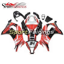 White Red 84 Sportbike Body Frames For Kawasaki 2011 2012 2013 2014 2015... - $304.45