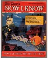 Walt Disney's Now I Know #47 1973-U.K-Cinderella-G - $31.53