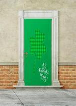 Plaid Shamrock Home Door Decor - $49.99+