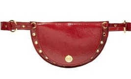See by Chloe Kriss red eyelet embellished patent textured leather belt bag - $246.51