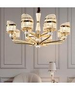 Minimalist Marble Crystal Chandelier Living Room Lighting Luxury Europea... - $1,899.00+