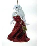 December Diamonds Miss Dottie Dalmatian Christmas Ornament #5590218 - $17.99