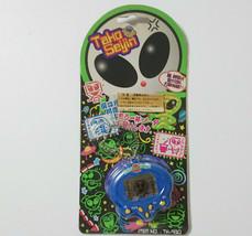Tako Seijin Blue Mini Game Lcd Virtual Pet Tamagotchi Japan Old Game Rare - $55.15