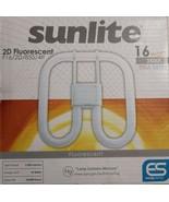 Sunlite F16/2D/835/4P 16-Watt 3500K 2D Fluorescent Light Bulb GR10q Base... - $15.67
