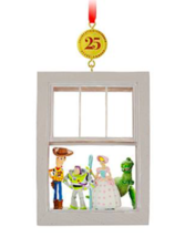 NEW 2020 Disney Store Toy Story 25th Anniversary Legacy Sketchbook Ornament - $29.69