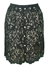 Lace Skirt with Dazzling Rhinestones - Medium (8) - $23.00