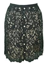 Lace Skirt with Dazzling Rhinestones - Medium (8) - $23.00
