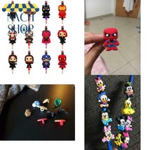 100Pcs/Lot Super Heroes Avenger Cartoon Pvc Pencil Topper/Caps Pen'S Acc... - $20.71