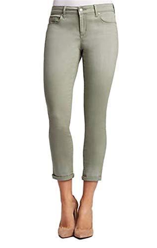 Jessica Simpson Rolled Crop Skinny Jean (6/28, Meadow Green)