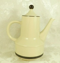 Vintage 70's Sears Strawberries Coffee Pot with Lid Stoneware 4112 Japan - $11.87