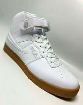 Men's Fila Vulc 13 Mid Plus White | Gum Fashion Sneakers  - $69.00