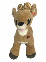 "Build A Bear 15"" Clarice Plush Rudolph the Red-Nosed Reindeer Christmas ... - $19.34"