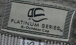 OC Sports Ladies Fit Outdoor Cap Royal Purple Dark Grey FWT130L image 7