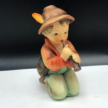 GOEBEL FIGURINE STATUE porcelain hummel sculpture Little Tooter 214/H ho... - $77.22