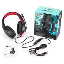 Onikuma PC USB Gaming Headset For PS4 For XBOX  3.5mm Jack Stereo LED Headphones - $41.56