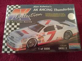 Alan Kulwicki AK Racing Thunderbird 0760 by Monogram.  1/24 Scale Model ... - $5.88