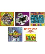 Lot of 5 CDs Dance Hits Various Artists - No Cases - $1.99