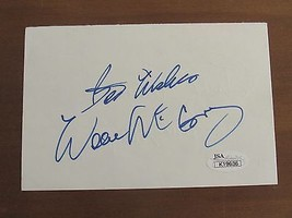 WILLIE MAYS & WILLIE MCCOVEY GIANTS 600-500 HR SIGNED AUTO INDEX CARD HO... - $148.49