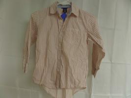Boys Long Sleeve Gap Size 6/7 Button Down Shirt - $14.00