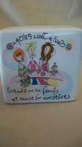 LADIES LUNCH FUND CERAMIC BANK from BORN TO SHOP 2010 - $13.85