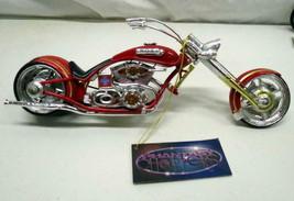 The Extinguisher Phantasy Chopper Custom Motorcycle Firefighter Bike Wes... - $29.65