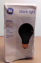 GE Lighting Medium Base Incandescent A19 Black Light Bulb 60W - $3.93