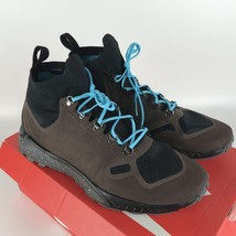 Nike Zoom Talaria Mid Flyknit Brown Gamma Blue Men's size 10 856957 200 NEW image 2