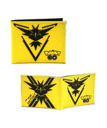 "Team Instinct - Pokemon GO 4x5"" Bi-fold Wallet - $16.81"