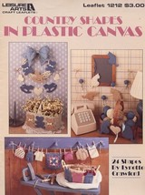 Country Shapes (24) Bird Cat Plastic Canvas PATTERN/INSTRUCTIONS Leaflet - $1.77