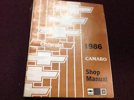1986 Chevy Chevrolet Camaro Servicio Tienda Reparación Manual Taller Oem... - $23.73