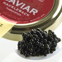 American Hackleback Caviar - Malossol - 5.5 oz, glass jar - $164.35