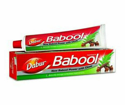 2 packs of Ayurveda Dabur Babool Natural Toothpaste 180gx 2, Herbal prod... - $22.99