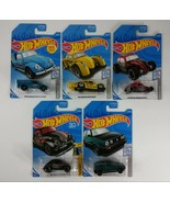 5 LOT: Classic Volkswagen Hot Wheels Collection - Brand New - $21.77
