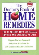Doctor's Book of Home Remedies: Simple, Doctor-Approved Self-Care Soluti... - $29.95