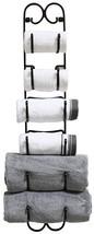 Rack Holder Towel Wine Hat Wall Mount Shelf Hanging Organizer Storage Ba... - $731,99 MXN