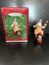 Hallmark Keepsake Ornament Toymaker Santa #1 In Series 2000 - $10.00