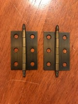 Pair of Amerock Self-Mortise Free Swing Minaret Tip Hinges BP2355-AE - $3.99