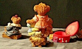Bear Figurines AA20-2118  Collectible ( 4 pieces ) image 2