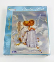 "White Mountain Angel Kisses 1000 Extra Large Piece Puzzle 24"" x 30"" #1845 - $24.74"