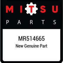 MR514665 Mitsubishi Pipeexhaustctr, New Genuine OEM Part - $315.26
