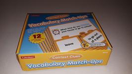 LAKESHORE VOCABULARY MATCH - UPS , CONTEXT CLUES - $12.99