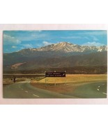 Vintage Postcard Pikes Peak Colorado Lake Air Force Academy South Entrance  - $5.10