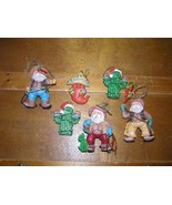 Estate Lot of Resin & Ceramic Southwest Santa Claus Cowboy Cactus Chili ... - $12.19